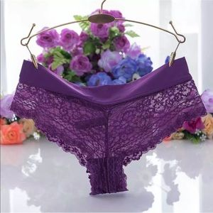 Intimates & Sleepwear - (Bundle of 6) Women's Low Waist Sexy Lace Panties